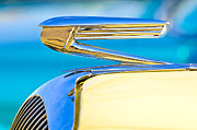 Car Mascots Prints - 1936 Buick 40 Series Hood Ornament Print by Jill Reger