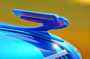 Hoodies Art - 1936 Chevrolet Hood Ornament by Jill Reger