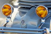 Car Detail Prints - 1936 Cord Phaeton Headlights Print by Jill Reger