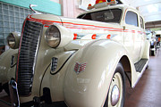 Taxis Photos - 1936 Desoto Deluxe Airstream Taxicab by Wingsdomain Art and Photography