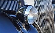 Headlamp Photos - 1936 Ford 2DR Sedan by Gwyn Newcombe