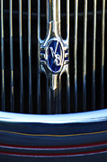 1936 Ford Phaeton V8 Grille Emblem 2 Print by Jill Reger