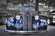 Fenders Prints - 1936 Plymouth Sedan Print by Debra and Dave Vanderlaan