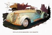 RG McMahon - 1937 Auto Union Wanderer