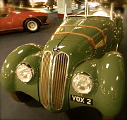 Bmw Racing Classic Bmw Prints - 1937 Bmw 328 Print by John Colley