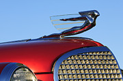1937 Cadillac V8 Photos - 1937 Cadillac V8 Hood Ornament by Jill Reger