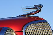 1937 Cadillac V8 Hood Ornament Print by Jill Reger