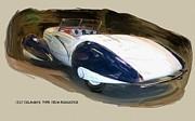 RG McMahon - 1937 Delahaye Type 135 M Roadster