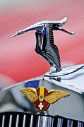 Hispano Suiza Photos - 1937 Hispano-Suiza Hood Ornament by Jill Reger