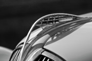 1937 Plymouth Hood Ornament 3 Print by Jill Reger
