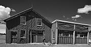 Old Barns Photo Originals - 1938 Barn on Clarks Lake Road by Stephen Mack