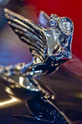 Car Mascot Prints - 1938 Cadillac V-16 Hood Ornament Print by Jill Reger