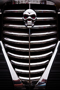 Chrome Skull Prints - 1938 Oldsmobile Business Coupe Print by David Patterson