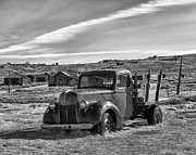 Canon Eos 50d Photos - 1939 Ford Truck Bodie CA by Troy Montemayor