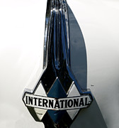 1939 International Hood Ornament  Print by Steven  Digman