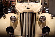Transportation Metal Prints - 1939 Packard Super Eight Phaeton - 7D17407 Metal Print by Wingsdomain Art and Photography