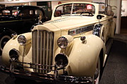 Transportation Metal Prints - 1939 Packard Super Eight Phaeton - 7D17408 Metal Print by Wingsdomain Art and Photography