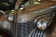 Motor Metal Prints - 1940 Cadillac - Model 62 4-Door Sedan Metal Print by Michelle Calkins