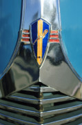 Collector Hood Ornament Prints - 1940 Dodge Business Coupe Emblem Print by Jill Reger