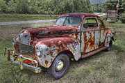 Bumpers Prints - 1940 Dodge Print by Debra and Dave Vanderlaan