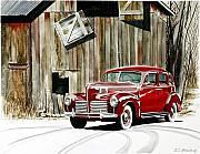 Rick Mock - 1940 Hudson and Barn