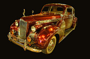 Car Photographs Art - 1940 Packard 120 Coupe by Ken Smith