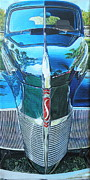 Custom  Studio Paintings - 1940 Studebaker Coupe by Jeff Taylor