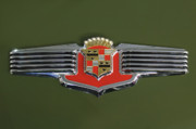 Hoodies Photos - 1941 Cadillac 62 Emblem by Jill Reger