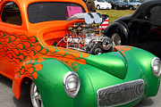 Sportscar Photos - 1941 Custom Hotrod . 7D15207 by Wingsdomain Art and Photography