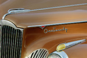 Historic Vehicle Photo Prints - 1941 Packard Hood Ornament 2  Print by Jill Reger