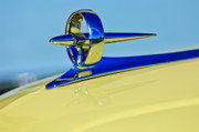 Collector Hood Ornament Posters - 1946 Buick Convertible Hood Ornament 3 Poster by Jill Reger