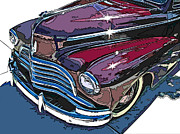 Samuel Sheats Posters - 1946 Chevrolet Front Study Poster by Samuel Sheats