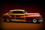 1946 Chrysler Town And Country Convertible Framed Prints - 1946 Chrysler Town and Country Convertible Framed Print by Tim McCullough