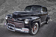 1946 Ford Print by Debra and Dave Vanderlaan