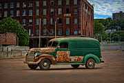 Gmc Posters - 1946 GMC Panel Truck Poster by Tim McCullough