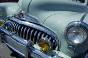 Car Detail Prints - 1947 Buick Eight Super Grille Print by Jill Reger