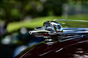 1947 Chevrolet Hood Ornament Print by Paul Ward