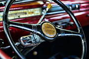 Express Photos - 1947 Studebaker Steering Wheel by Paul Ward