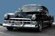 Vintage Auto Digital Art - 1948 Cadillac Fastback by Robert Meanor