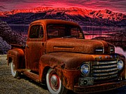 1948 Ford Pickup Truck Print by Tim McCullough