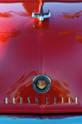 Car Mascots Framed Prints - 1948 Oldsmobile Hood Ornament 2 Framed Print by Jill Reger