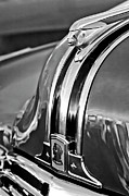 Antique Automobiles Posters - 1948 Pontiac Chief Hood Ornament 4 Poster by Jill Reger
