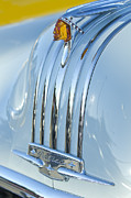 1948 Pontiac Chief Framed Prints - 1948 Pontiac Hood Ornament 3 Framed Print by Jill Reger