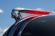 1949 Digital Art Originals - 1948 Pontiac Silver Streak Hood Ornament by Gordon Dean II