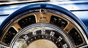Bill Alexander Acrylic Prints - 1949 Chrysler Windsor Speedometer  Acrylic Print by Bill Alexander