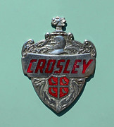 Shield Posters - 1949 Crosley Emblem Poster by Paul Ward