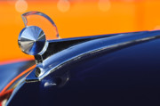 Car Mascot Prints - 1949 Ford Hood Ornament 5 Print by Jill Reger
