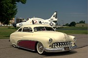 War Bird Framed Prints - 1949 Mercury Custom Low Rider Framed Print by Tim McCullough