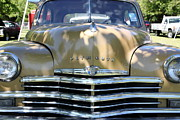 1949 Plymouth Delux Posters - 1949 Plymouth Delux Sedan . 5D16205 Poster by Wingsdomain Art and Photography