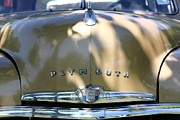 1949 Plymouth Delux Posters - 1949 Plymouth Delux Sedan . 5D16206 Poster by Wingsdomain Art and Photography